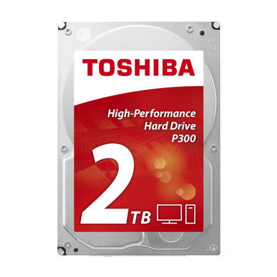 Toshiba P300 - HIGH-PERFORMANCE HARD DRIVE, 2TB