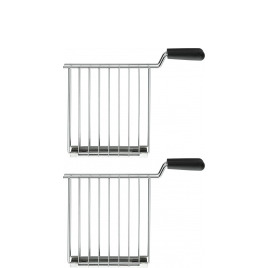 Dualit 2x Sandwich Cages for Dualit Lite Toasters in Stainless Steel 00510 Reviews