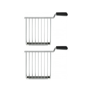 Photo of Dualit 2X Sandwich Cages For Dualit Lite Toasters In Stainless Steel 00510 Kitchen Accessory