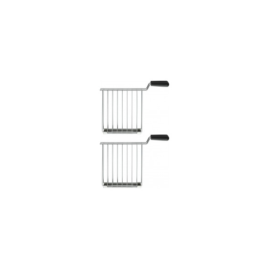 Dualit 2x Sandwich Cages for Dualit Lite Toasters in Stainless Steel 00510