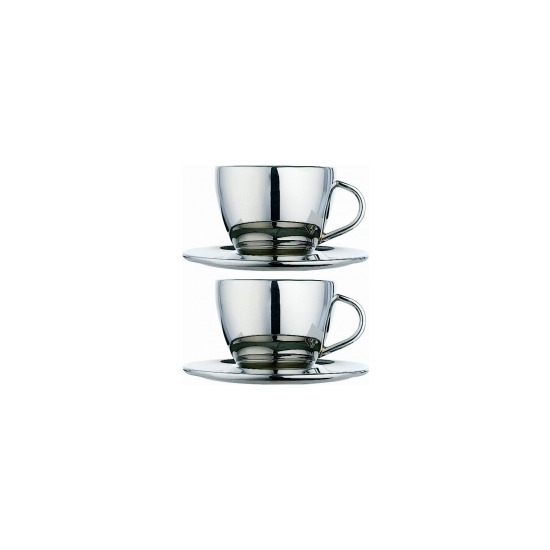 Dualit Cool Wall 85003 Pair of Coffee Cups