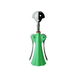 Photo of Alessi 'Anna g' Corkscrew AAM01GR In Green Dinnerware
