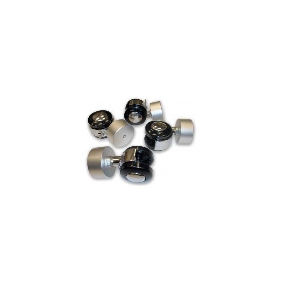 MDA Designs 'Premium Range' ZINCP1535/SV Castor Pack