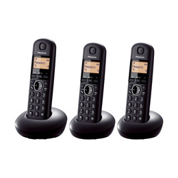 Panasonic KX-TGB213EB Cordless Phone - Triple Handsets Reviews