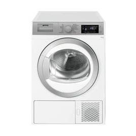 Smeg DHT81LUK 8 kg Heat Pump Tumble Dryer - White Reviews