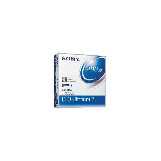 SONY LTO ULTRIUM 2 200/400GB TAPE CARTRIDGE