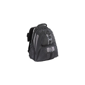 Photo of Targus Sport Notebook Backpac - Notebook Carrying Backpack - Black, Silver Laptop Bag