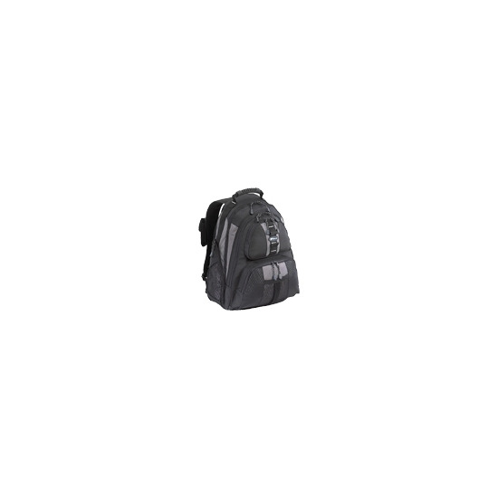 Targus Sport Notebook Backpac - Notebook carrying backpack - black, silver