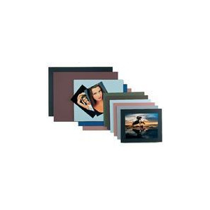 """Photo of Mounting Board Grey/Black 12""""X16"""" (30.5X40.6CM) - Pack 10 Photo Frame"""