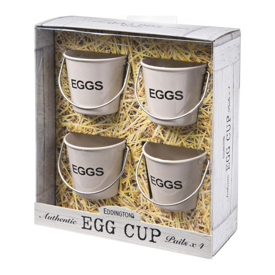 Egg Cup Buckets - Cream