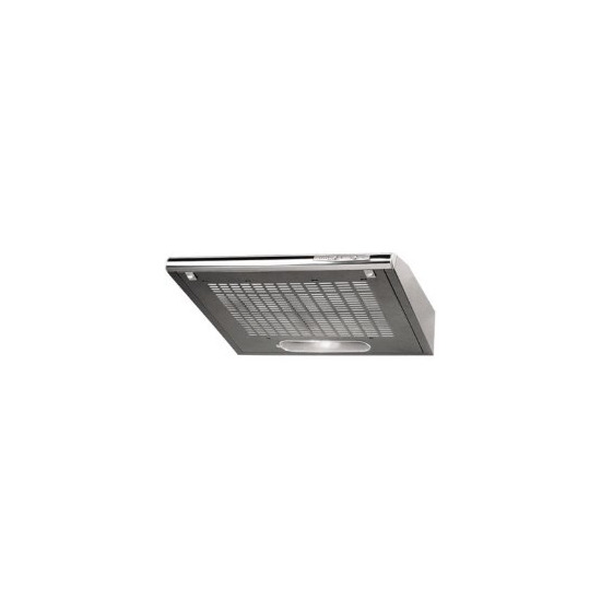 Amica OSC6458I 60cm Conventional Cooker Hood - Silver