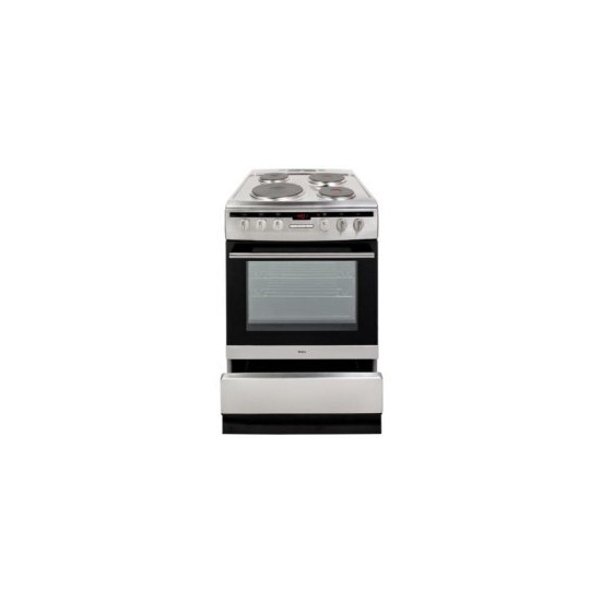 Amica 608EE2TAXX 60cm Freestanding Electric Cooker Stainless Steel