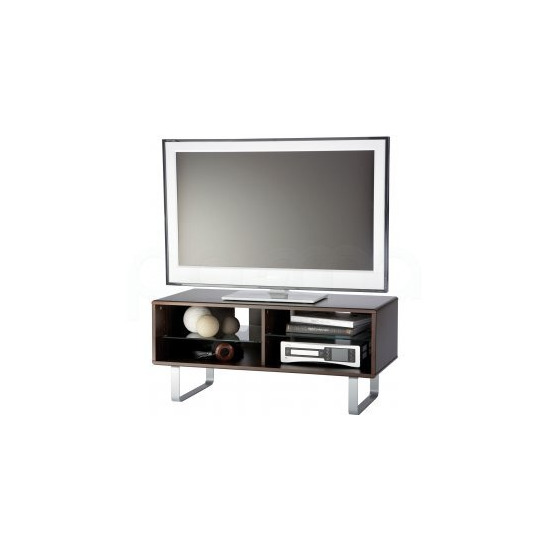 Alphason Walnut TV Stand For Up To 50  TVs
