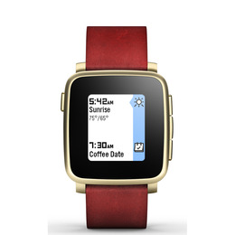 PEBBLE Time Steel Smartwatch - Gold Reviews