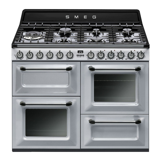 Victoria TR4110S1 110 cm Dual Fuel Range Cooker Stainless Steel