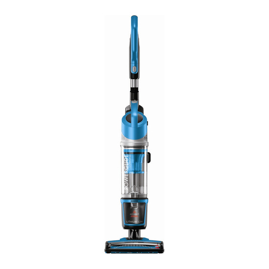 Bissell PowerGlide 1538A Cordless Vacuum Cleaner - Blue & Silver