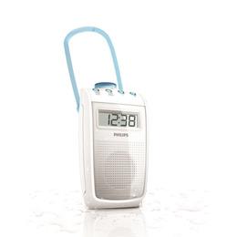 Portable Analogue Bathroom Radio - White Reviews