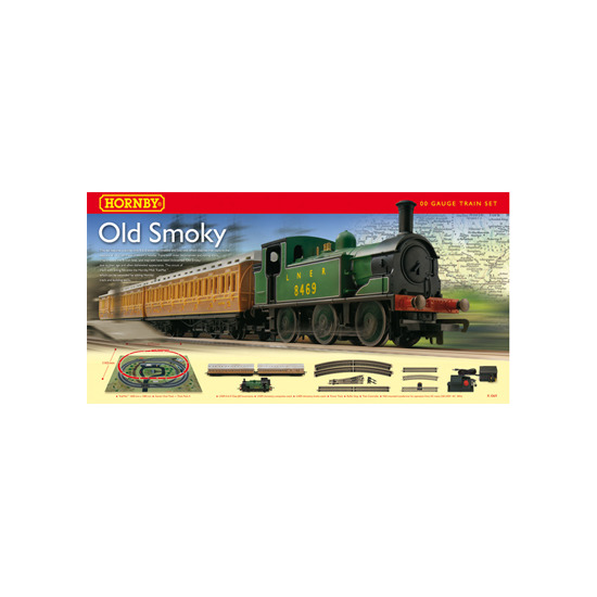 Hornby Old Smokey Gauge Train Set