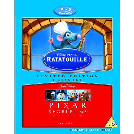 Ratatouille/Pixar Shorts Blu-ray