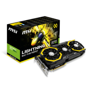 Photo of MSI GeForce GTX 980 Ti Lightning Graphics Card