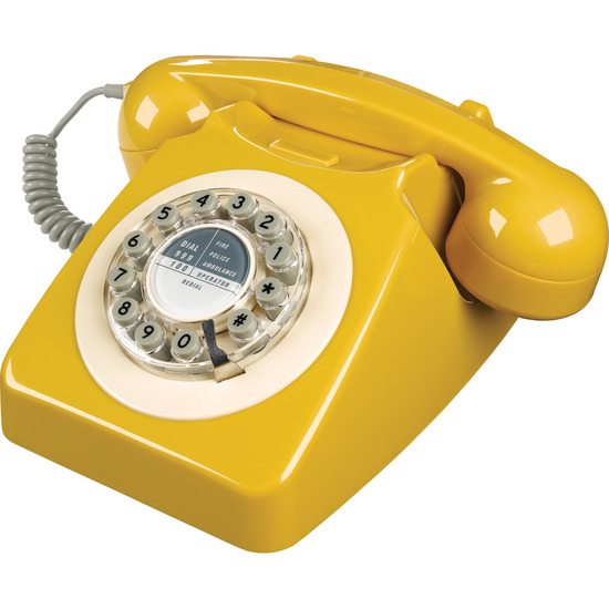 746 Corded Phone - English Mustard
