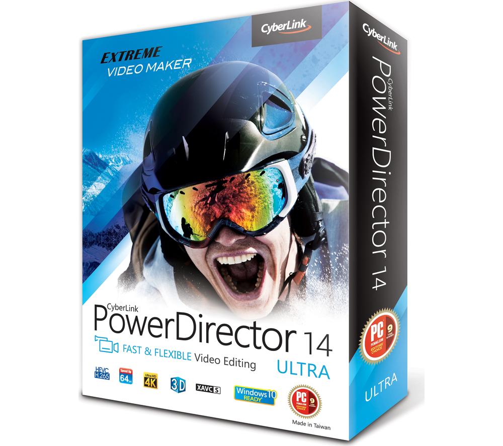 powerdirector 14 produce mp4