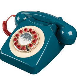 746 Corded Phone - Petrol Blue Reviews