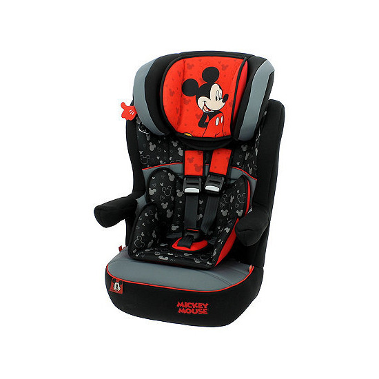 Disney IMax SP High Back Booster Car Seat with Harness