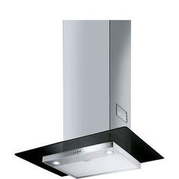 SMEG KFV62DNE Chimney Cooker Hood - Stainless Steel & Black Glass