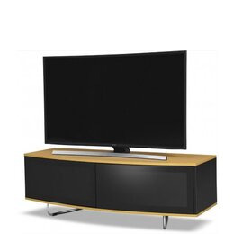MDA Designs Caru TV Stand for up to 65  TVs - Oak Reviews
