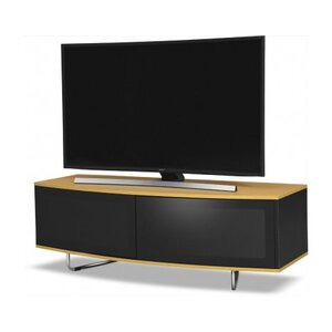 Photo of MDA DESIGNs Caru TV Stand For Up To 65  TVs - Oak TV Stands and Mount