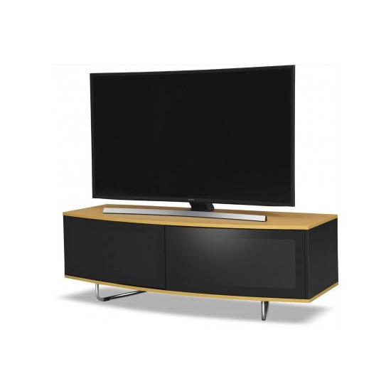 MDA Designs Caru TV Stand for up to 65  TVs - Oak