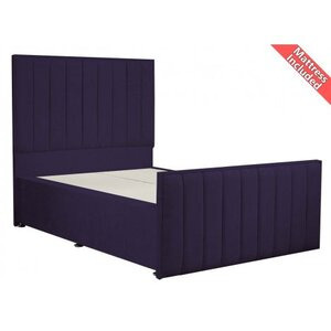 Photo of Luxan Hampstead Dun Colours Bed Set - Small Double 4FT Furniture