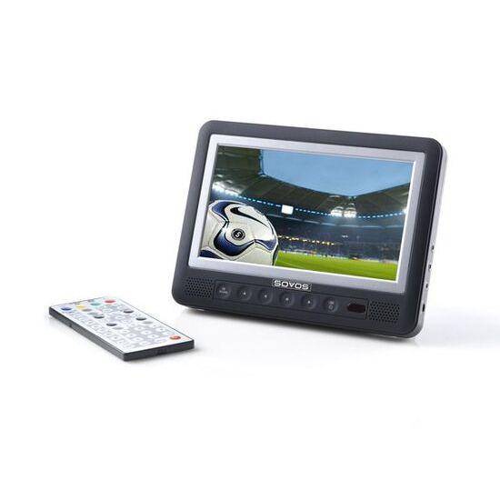 """SOVOS SVDTV7FK 7"""" Portable LCD TV"""