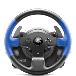 T150 RS Steering Wheel - Black & Blue Reviews