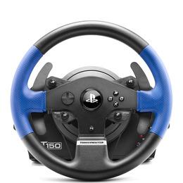 T150 RS Steering Wheel - Black & Blue Reviews