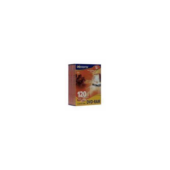 Memorex DVD-RAM 2X 5PK