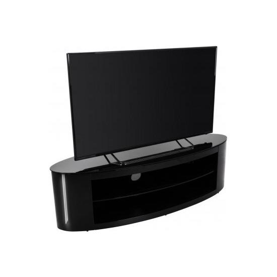 AVF Buckingham FS1400BUCB Black TV Stand for up to 65