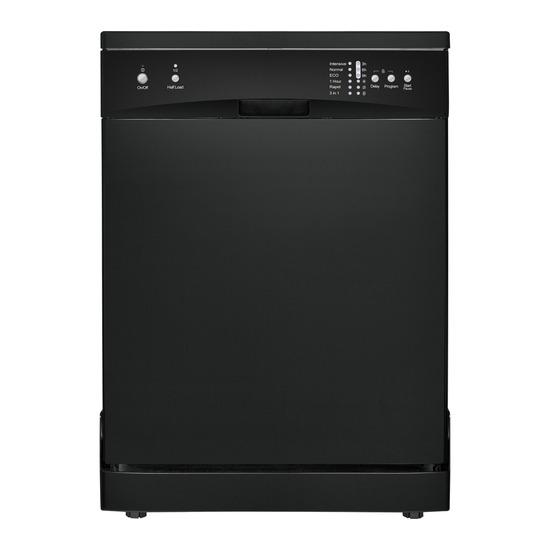 ESSENTIALS CDW60B15 Full-size Dishwasher - Black