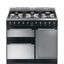 Symphony 90 cm Dual Fuel Range Cooker Stainless Steel Reviews