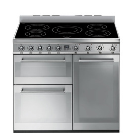 Symphony 90 cm Electric Induction Range Cooker Stainless Steel Reviews