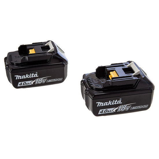Makita BL1840 (196405-1) 18 Volt 4AH Lithium-Ion Battery Twin Pack