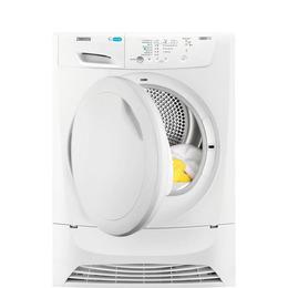 Zanussi ZDP7204PZ Condenser Tumble Dryer - White Reviews