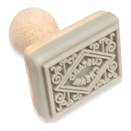 Traditional Biscuit Stamp - Custard Cream