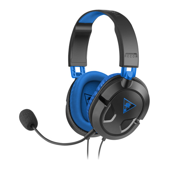 Turtle Beach Ear Force Recon 60P Gaming Headset - Black & Blue
