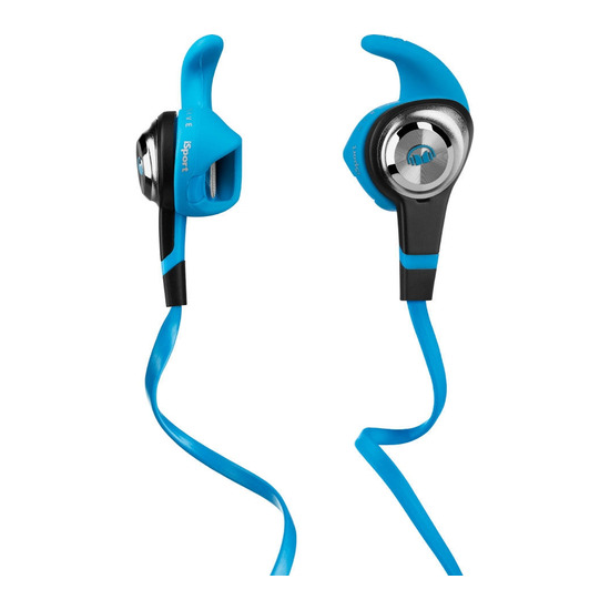 MONSTER iSport v2 Strive Headphones - Blue