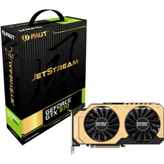 Palit GeForce GTX 970 JetStream 4GB GDDR5 Duasl-link DVI PCI-E Graphics card