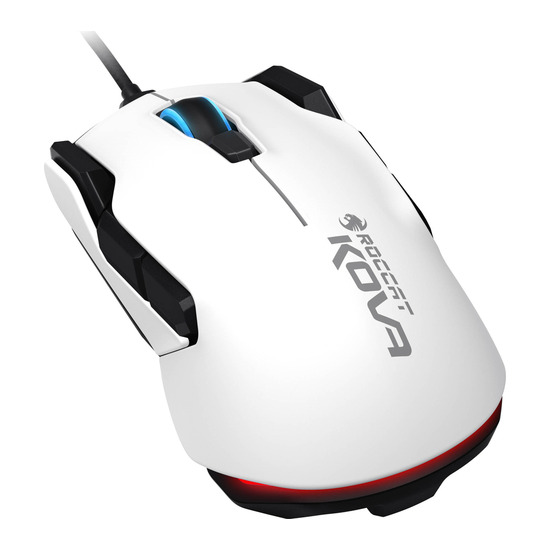 ROCCAT Kova Pure Performance Optical Gaming Mouse - White