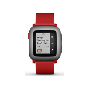 Photo of PEBBLE Time SmartWatch Wearable Technology