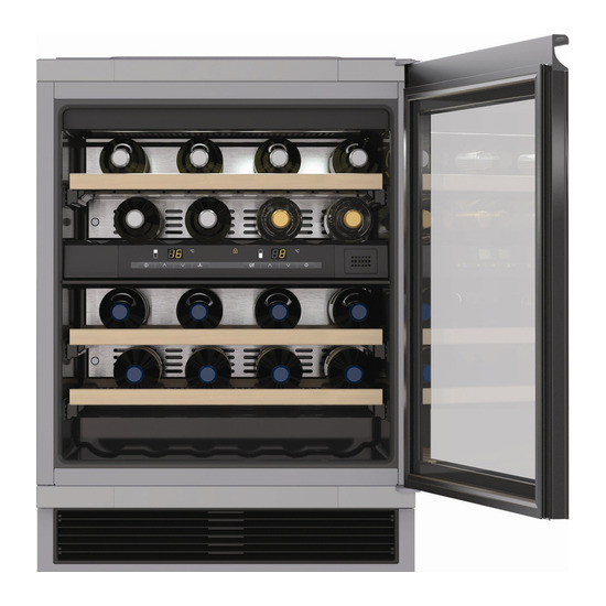 Miele KWT6321 UG Wine Cooler - Black